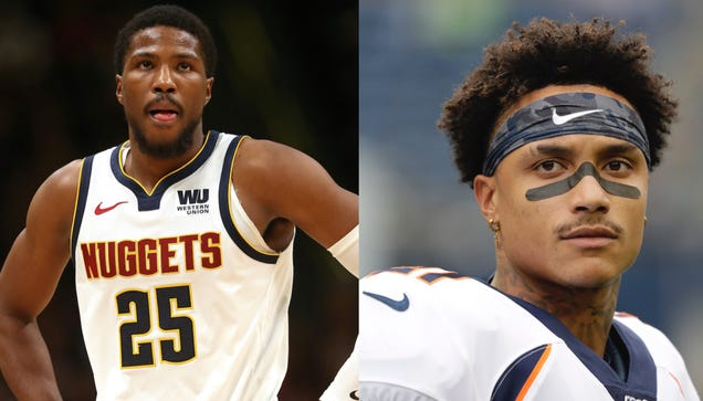 Video Surfaces Of Wild Brawl Between Nuggets Malik Beasley And Former Bronco Sua Cravens