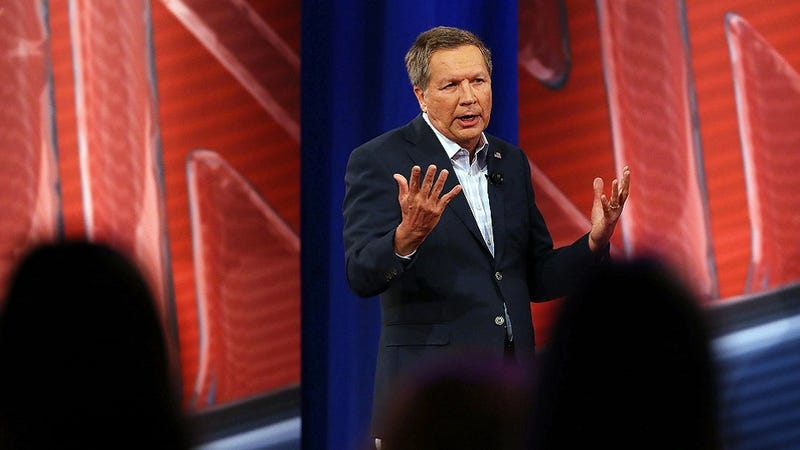 Illustration for article titled John Kasich Was a Linkin Park Fanboy Way Before Tonight's GOP Town Hall