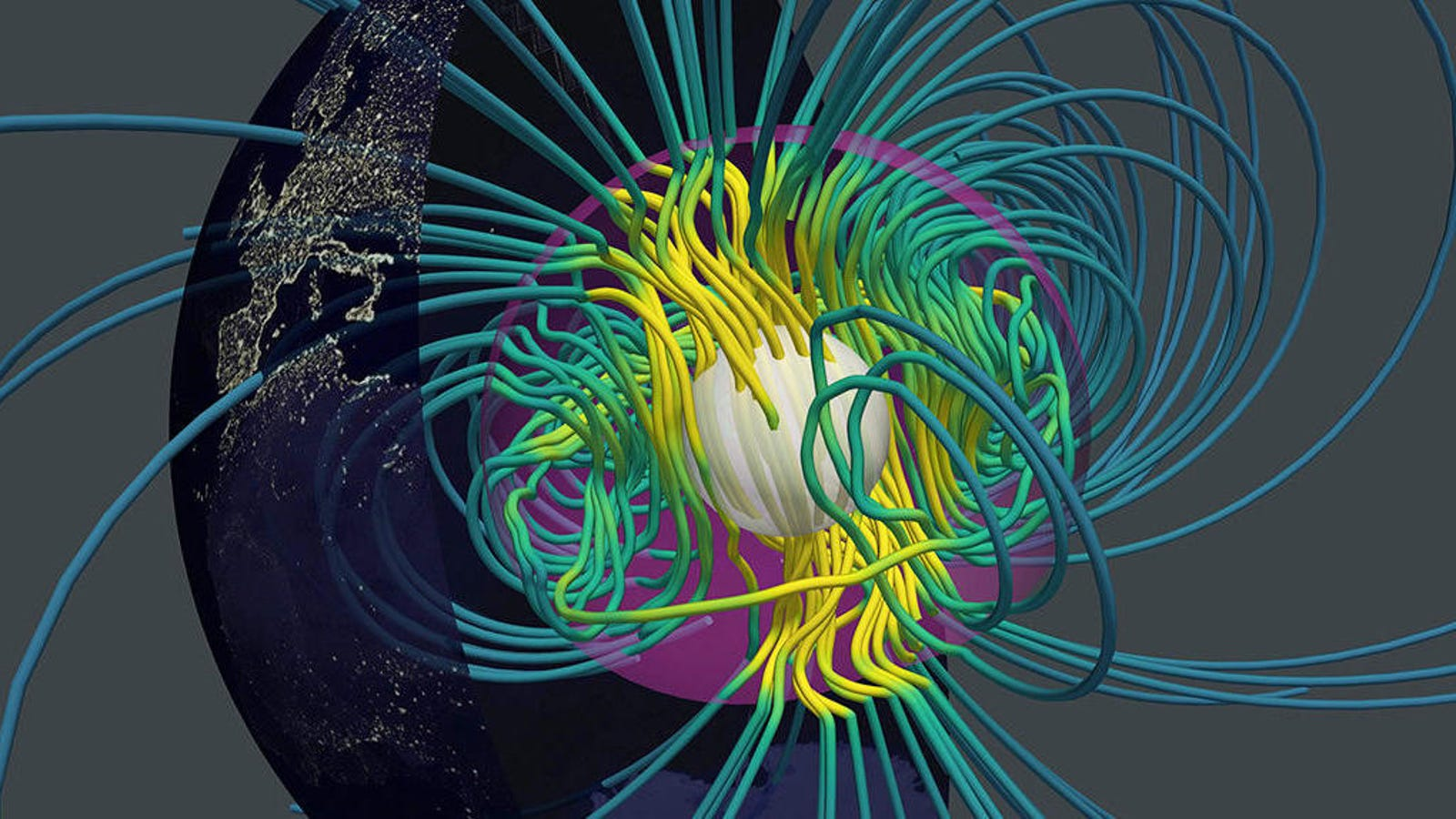 Hypnotic Video Simulates How Earth Gets Its Magnetic Field