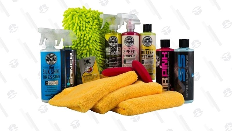 Chemical Guys Complete Car Care Kit | $80 | Amazon