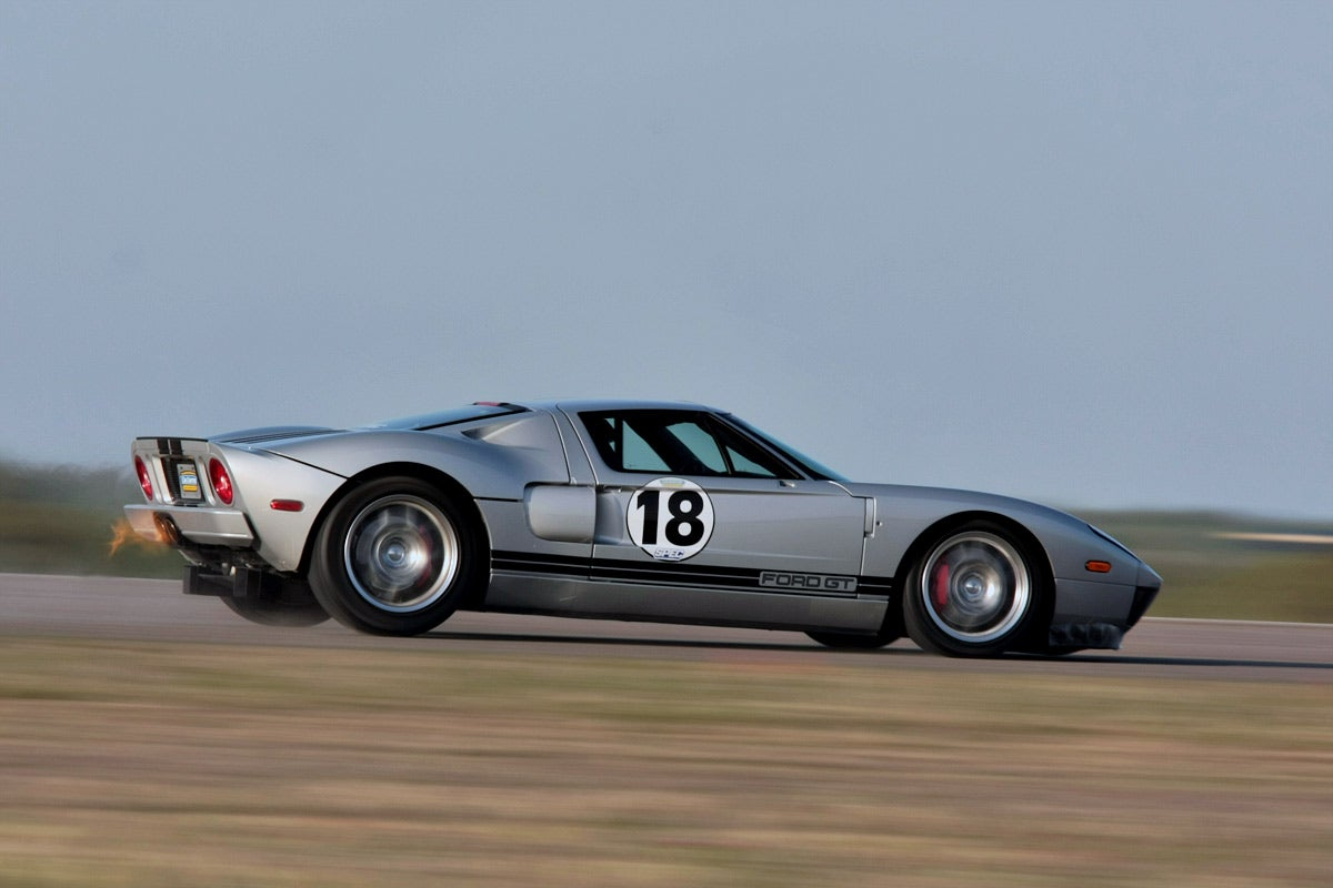 Heffner Ford Gt Sets 266 93 Mph Standing Mile Record