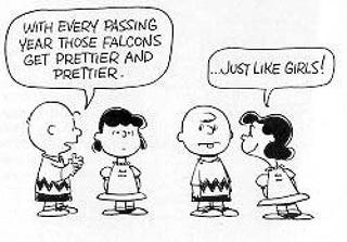 Illustration for article titled Charles Schultz Helps Move '62 Falcons Off The Showroom Floor