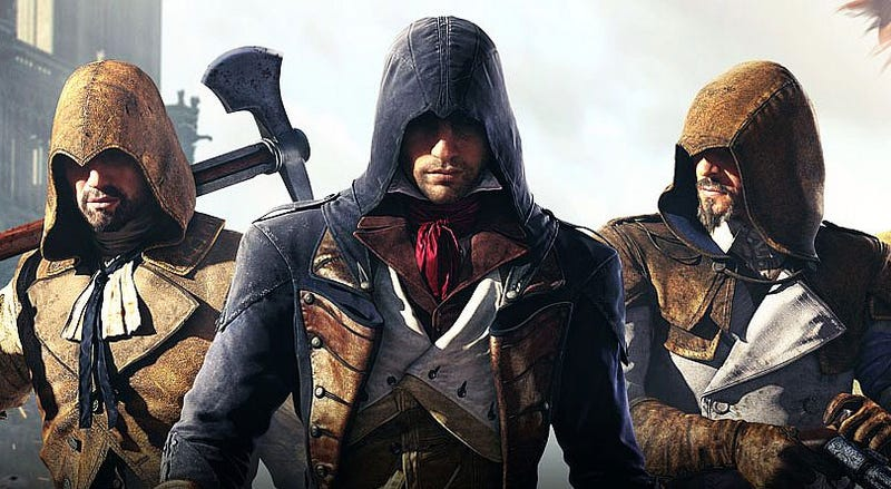 Illustration for article titled Luke, Stephen And Kirk On What's Wrong With Assassin's Creed Unity