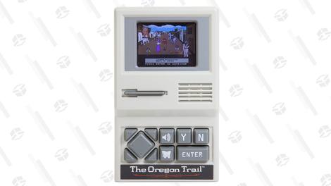 The Oregon Trail Handheld Game | $13 | Amazon