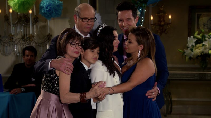 Rita Moreno, Stephen Tobolowsky, Marcel Ruiz, Isabella Gomez, Todd Grinnell, and Justina Machado star in One Day At A Time