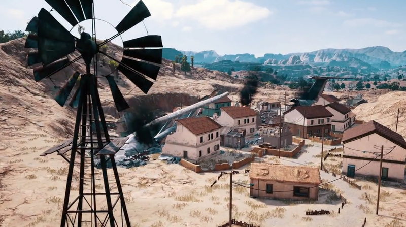 Our First Proper Look At PUBG's Desert Map