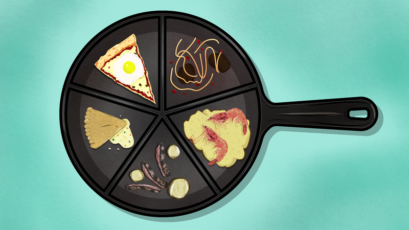 Illustration for article titled Five Surprising Meals You Didn't Know You Could Make in a Single Pan