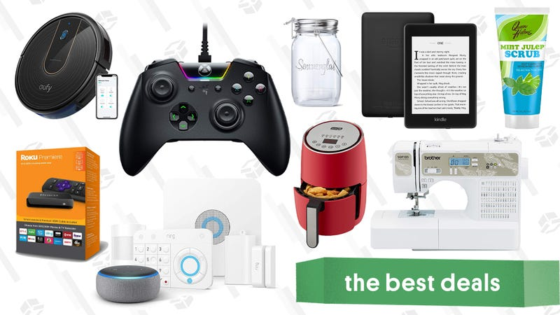Illustration for article titled Monday's Best Deals: Kindle Paperwhite, Airfryers, Roku, Razer, and More