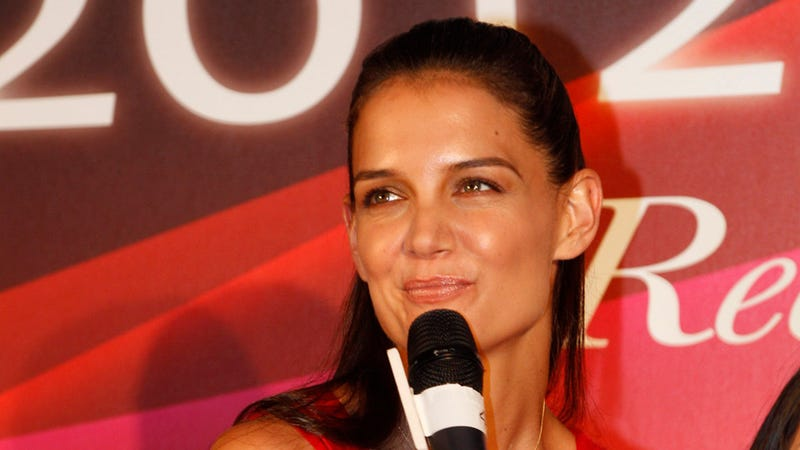 Illustration for article titled Katie Holmes Speaks Publicly for the First Time Since Filing for Divorce
