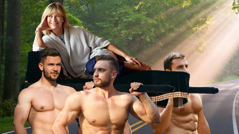 Illustration for article titled J.D. Power And Associates Name 4 Muscular Men Carrying You Everywhere As Best Vehicle In Class