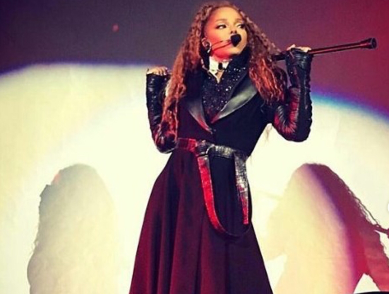 Janet Jackson blasts domestic terrorism as she returns to the stage
