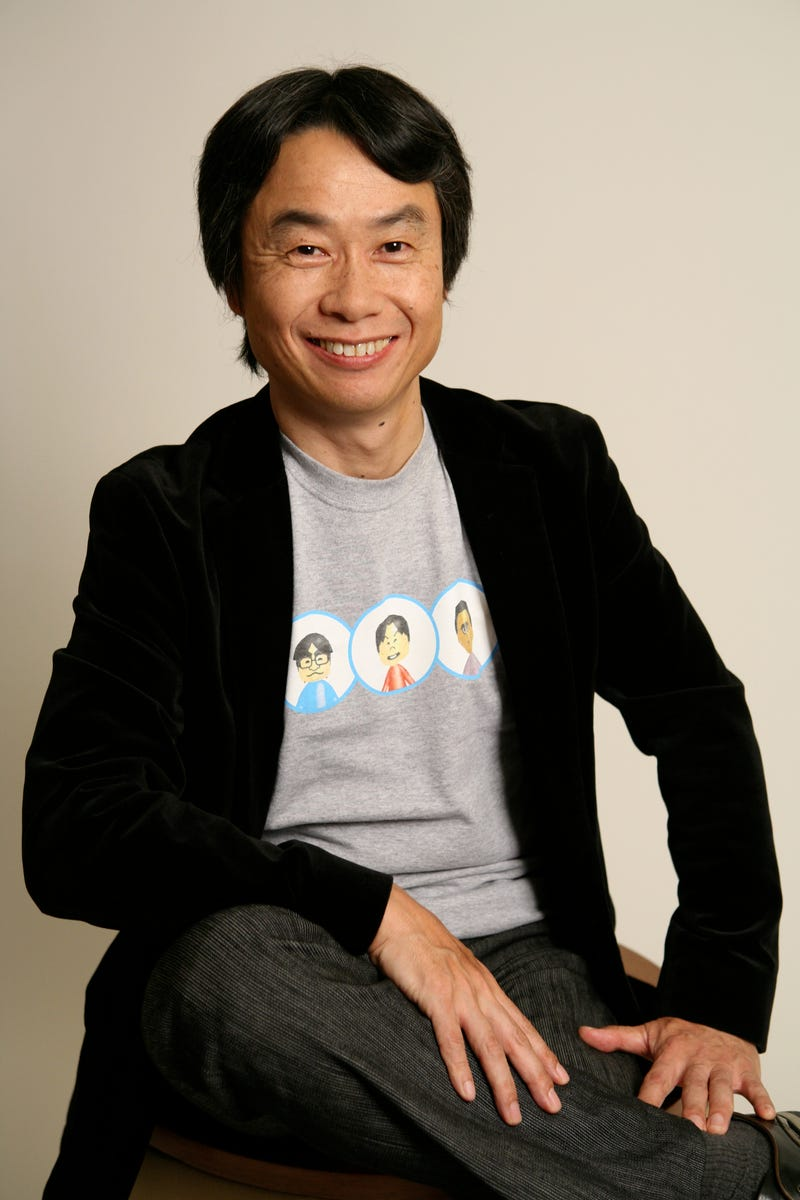 """Illustration for article titled TIME Interviews Shigeru Miyamoto about Virtual Reality, the threat of A. I., and his """"Cat Stool"""""""