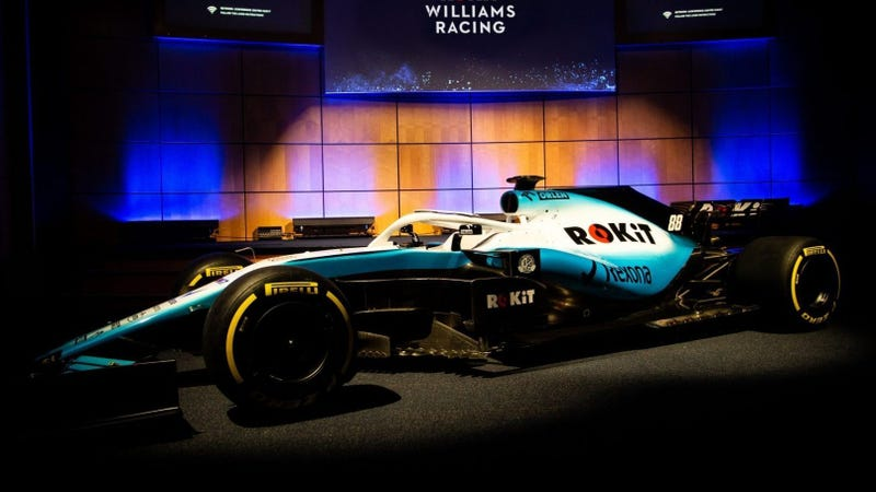 Williams F1 Goes Sky Blue for 2019 and Dumps the Alcohol Sponsor