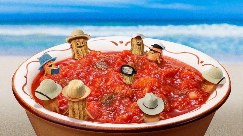 Illustration for article titled Peanut salsa. Yes, peanut salsa!