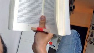Illustration for article titled Make a Reading Ring to Keep Any Book Open with Ease