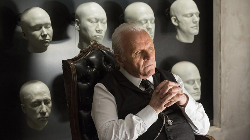 Image: Anthony Hopkins in Westworld.