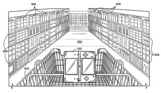 Illustration for article titled Patent Application Imagines The DS Helping With The Groceries