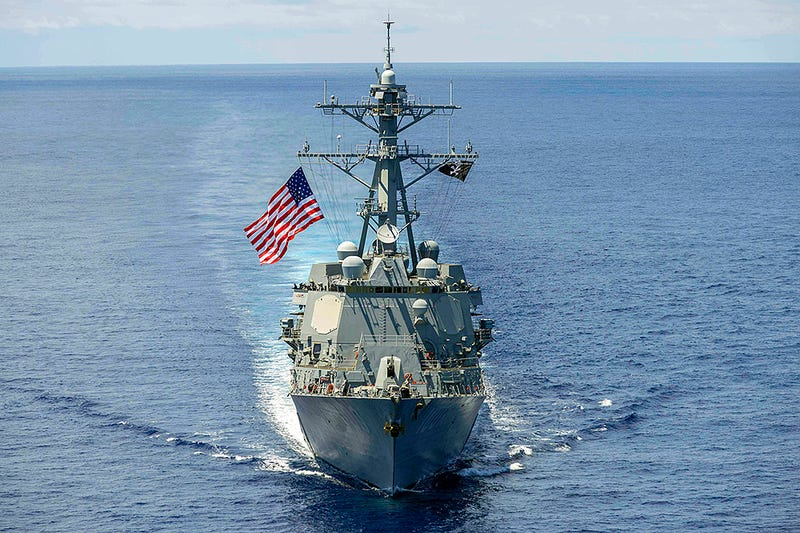 Illustration for article titled China Sends Message By Having Destroyers Shadow U.S. Ship Past Islands