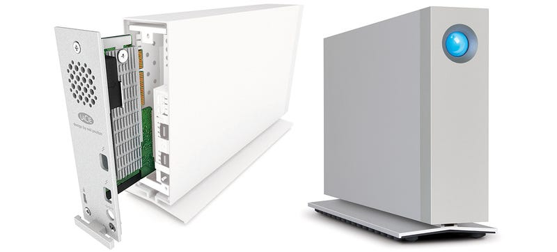 Illustration for article titled LaCie's d2 Thunderbolt 2 Can Be Upgraded With Extra SSD Storage