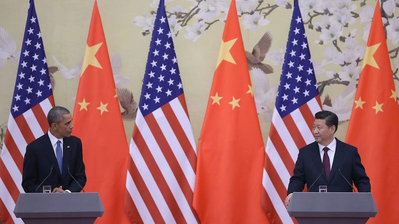 Illustration for article titled Secret US-China Climate Deal Sounds Romantic As Hell
