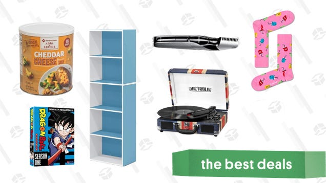 Thursday s Best Deals: Electric Body Groomer, Pink Fuzzy Socks, Canned Cheese Sauce, and More