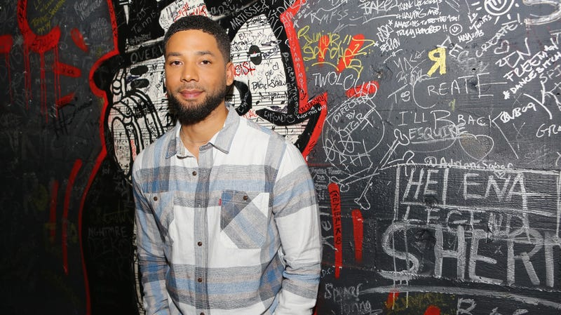 """Illustration for article titled Jussie Smollett speaks out after attack:""""My body is strong but my soul is stronger"""""""