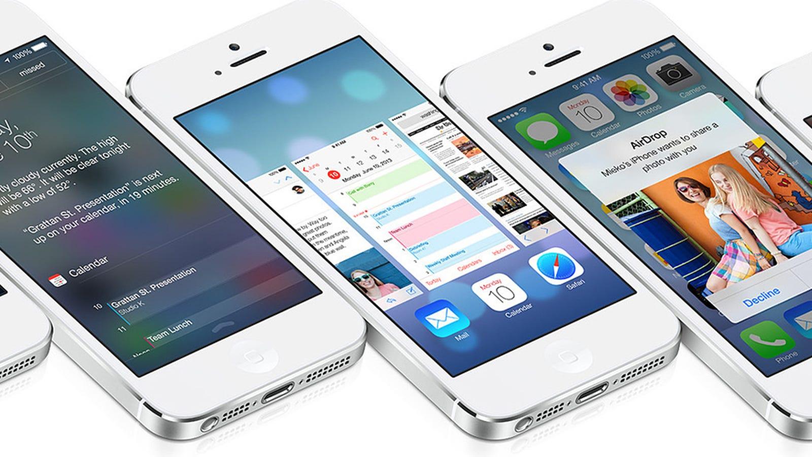 Un fallo en iOS 7 desactiva Find my iPhone y elimina cuenta de iCloud