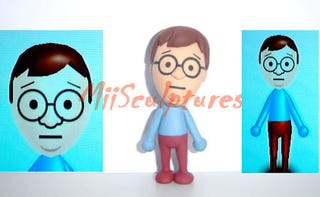 Illustration for article titled Customized Mii Sculptures Now Available For $79