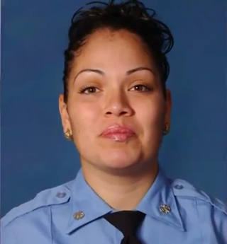 Yadira Arroyo was killed Thursday in the Bronx, N.Y., when a man hijacked the ambulance she was operating and ran her over with it. (Reuters video screenshot)