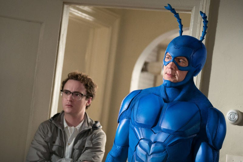 Illustration for article titled We're reviewing The Tick this weekend
