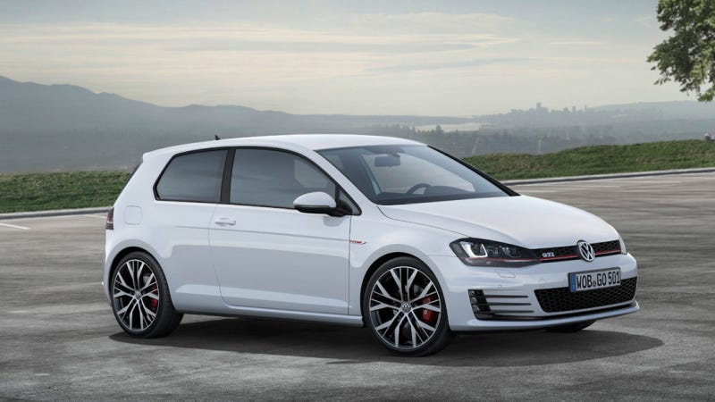 Illustration for article titled The 2014 Volkswagen GTI Loses Some Weight And Adds Some Power