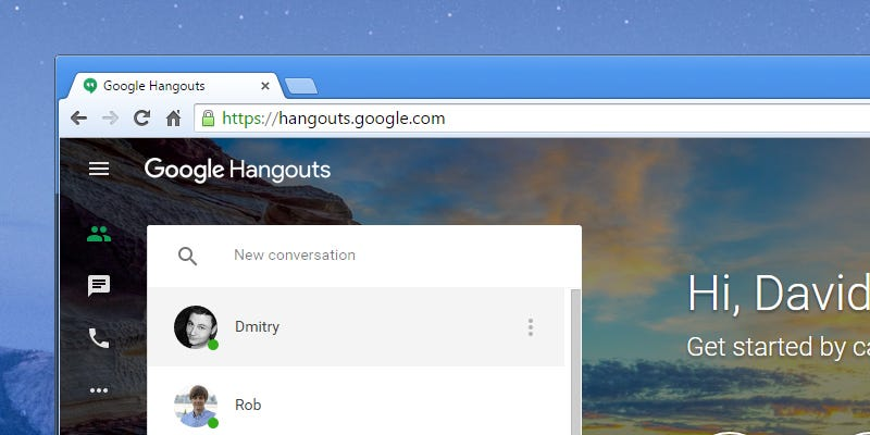 Illustration for article titled How To Organize Your Google Hangouts Just Like Email