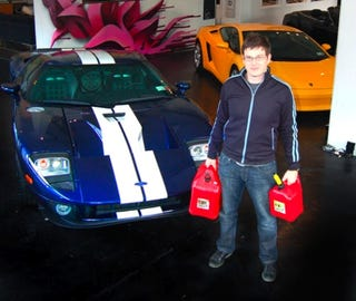 Illustration for article titled Supercar Hypermiling Day 1: Ford GT