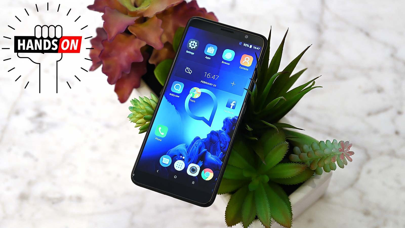 QnA VBage Alcatel's Refreshed 1X Is Going Big For a $120 Phone