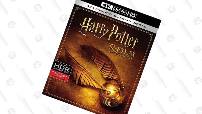 Harry Potter: The 8-Film Collection [4K] | $101 | Amazon | Clip the 5% coupon