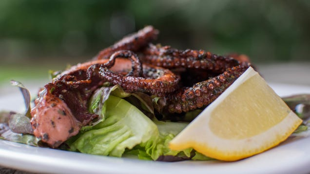 Cooking Octopus on The Grill Is Way Easier Than You Think
