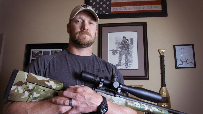 Illustration for article titled Ex-Sniper Shot Dead After Surviving Years In Harrowing United States