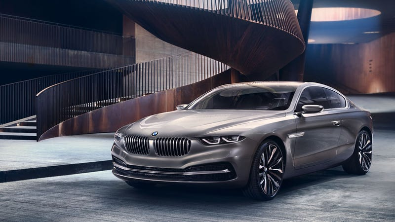 Bmw Design And Pininfarina Have Teamed Up To Make This Striking Looking One Off The Gran Lusso Coupé Revealed Today At Concorso D Eleganza Villa