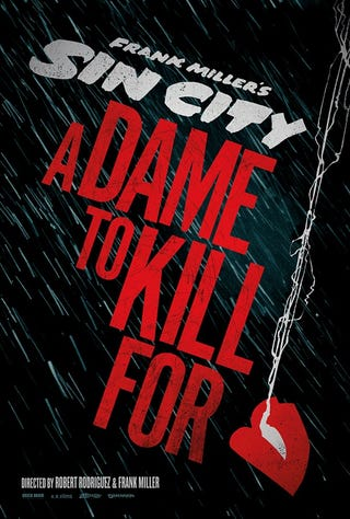 Illustration for article titled Sin City 2 - First Promotional Poster
