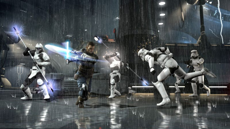 Illustration for article titled These Aren't (Or Maybe Are) The Force Unleashed II Screens You're Looking For