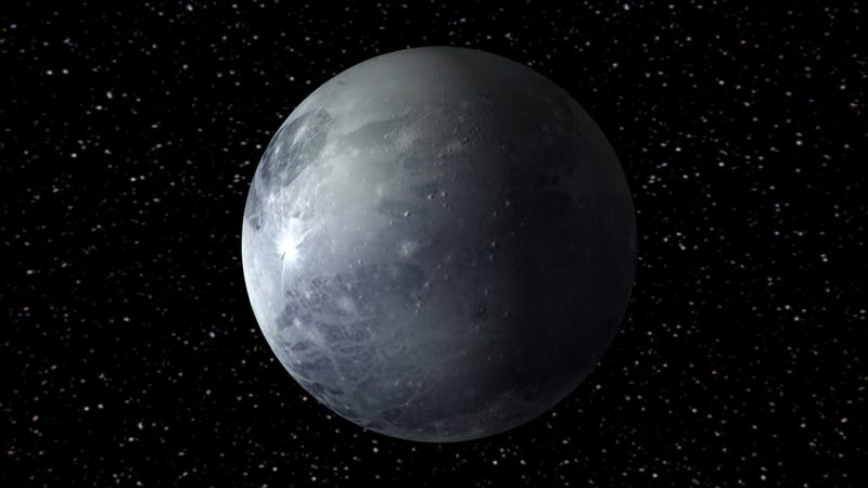 Illustration for article titled Could Pluto be home to a hidden liquid ocean?