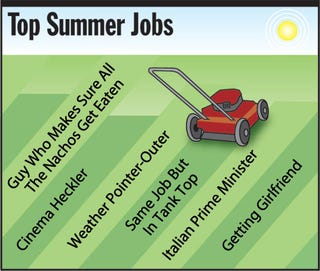 Illustration for article titled Top Summer Jobs