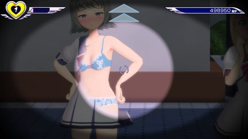 Illustration for article titled Gal*Gun DLC Lets You See Through Clothes For Just $90