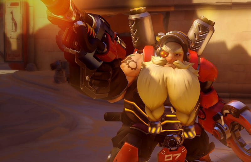 Illustration for article titled Overwatch's Unique Art Style Began With Torbjorn