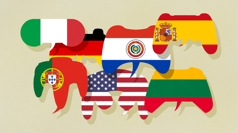 Illustration for article titled The Words For Gaming In Different Languages