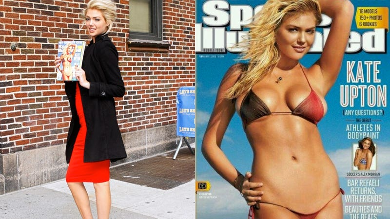 Illustration for article titled Victoria's Secret Says Kate Upton Will Never Walk In Its Fashion Show