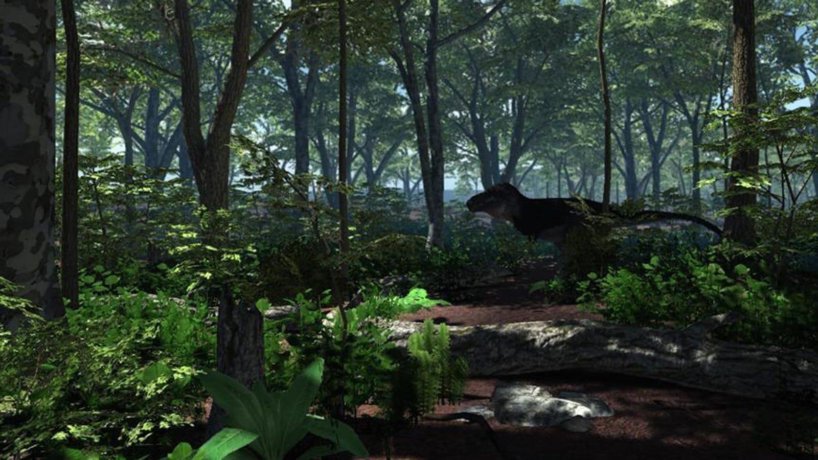 En este videojuego tendrás que sobrevivir como un dinosaurio