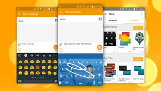 Illustration for article titled Swype Update Adds Custom Themes, Emoji Keyboard and More