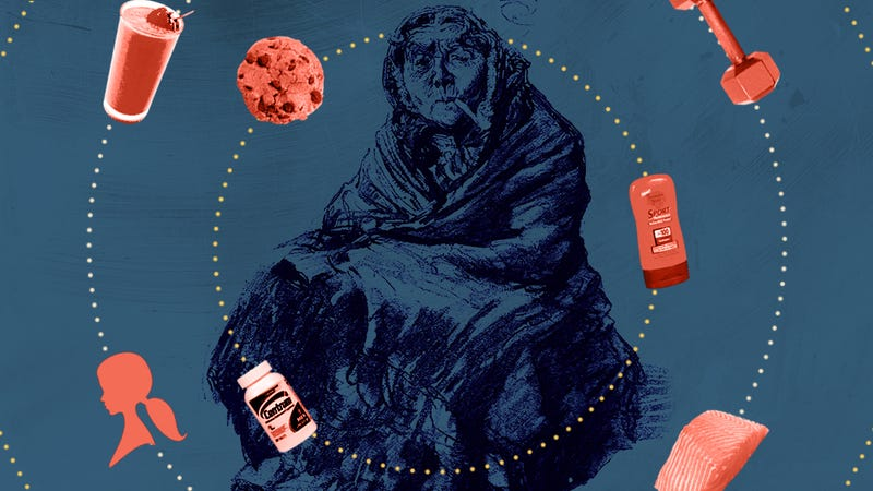 Illustration for article titled Eight Haggy Things You're Doing to Look Like an Old Hag