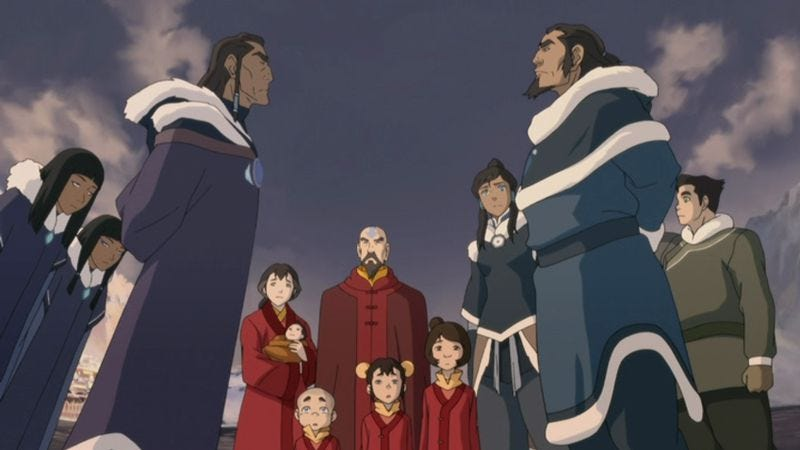 "Illustration for article titled The Legend Of Korra: ""Rebel Spirit""/""The Southern Lights"""